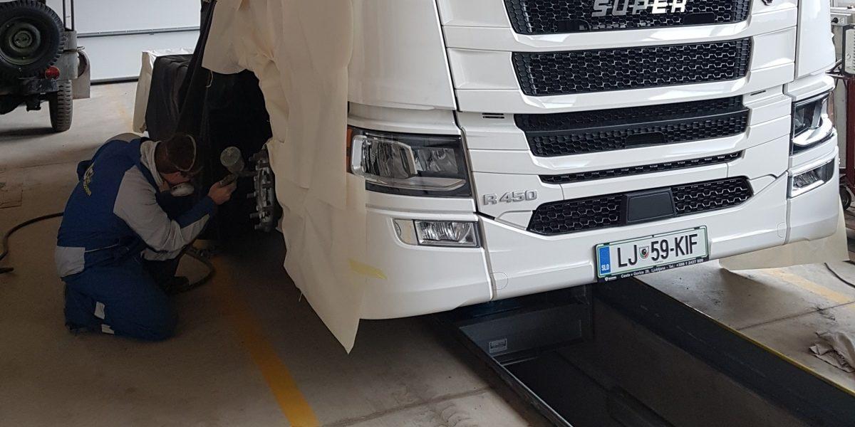 Delavnica za kamione